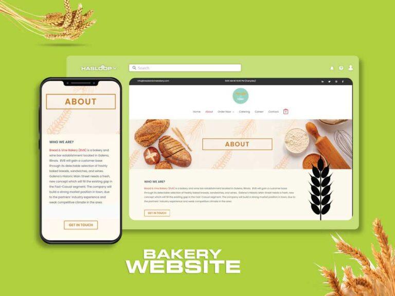 Bakery-website