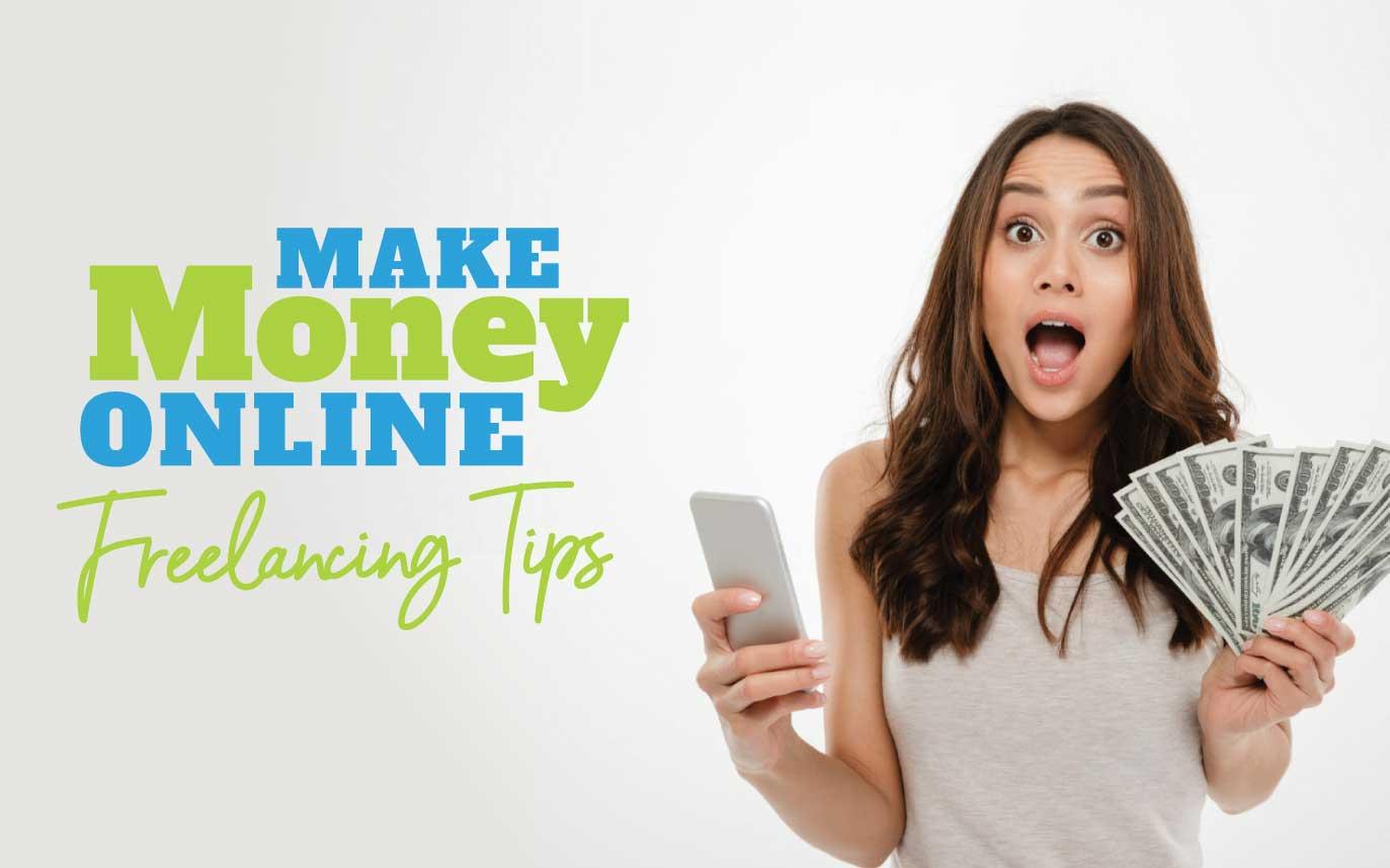 Make Money Online As A Freelancer, Top 3 Websites